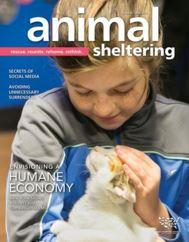 Animal Sheltering magazine cover