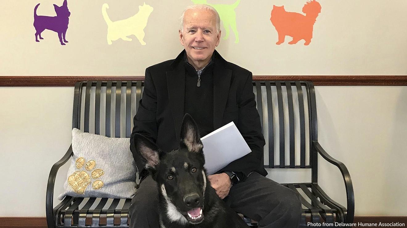 Joe and Major Biden