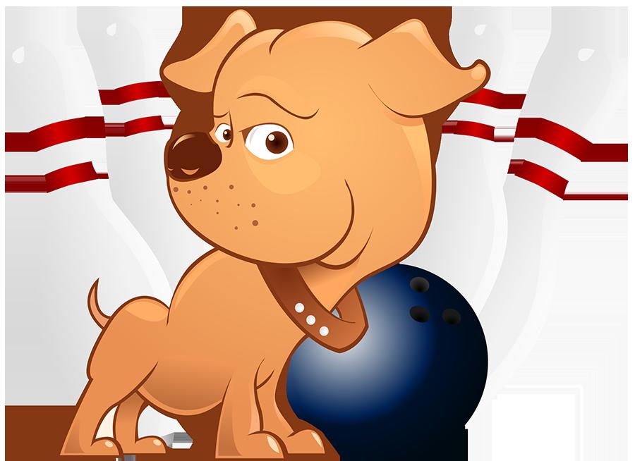 Pit Bowl pittie pup