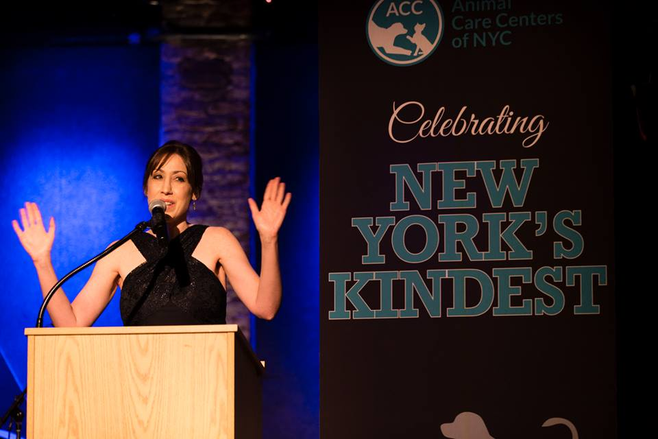 Susan at NYK gala